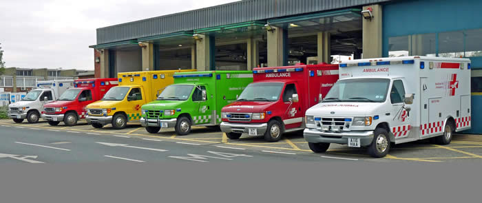 Ambulance Color Codings: for Function or for Fashion