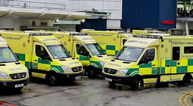 irish ambulances