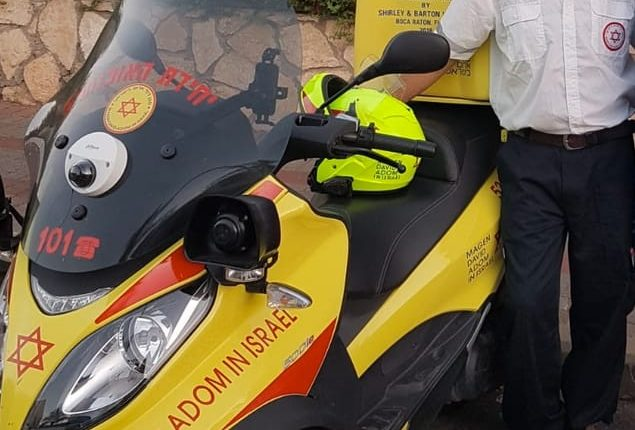 Emergency Live | Como obter um tempo de resposta mais rápido? A solução israelense é a motocicleta ambulância. Imagem 5