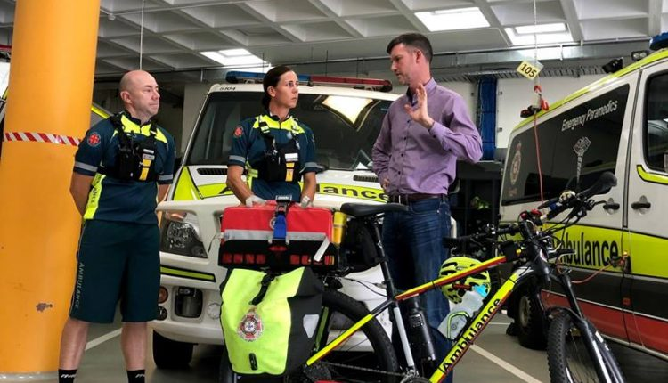 Emergency Live | Is a bicycle ambulance a good solution for urban first aid? image 1