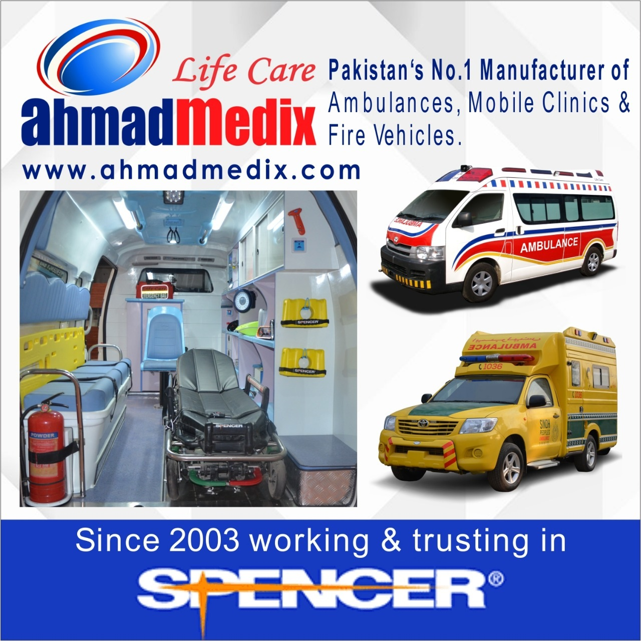 """SPENCER"" PARTNERIS - ""AHMAD MEDIX"""