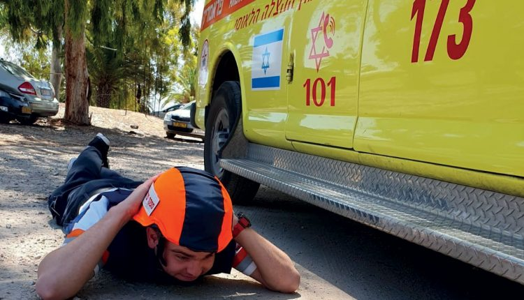 Emergency Live | EMS in War: Rescue Services during a Rockets Attack on Israel image 1