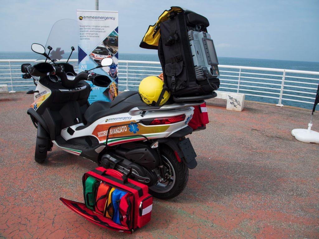 Motorcycle ambulance or van-based ambulance – Why Piaggio