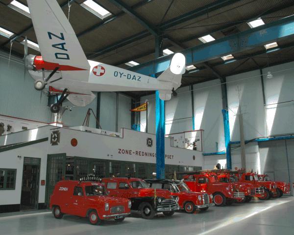 丹麦tekniske博物馆救护车
