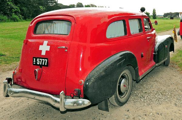 Denmark tekniska museets ambulans chevrolet stylemaster