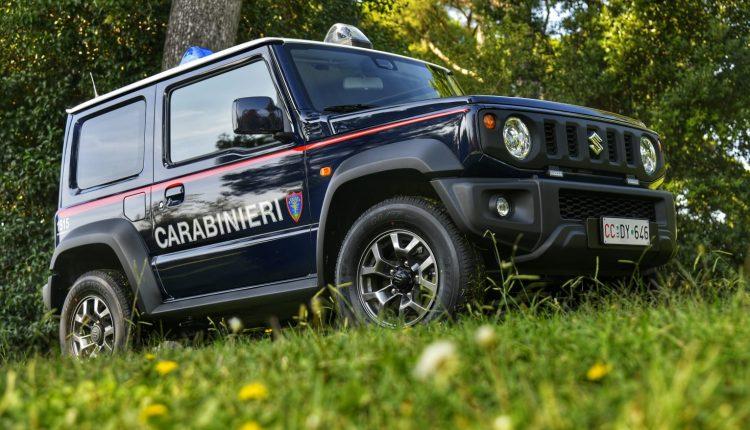 Emergencia en vivo | Suzuki Jimny, el 4WD supercompacto entra en el Carabinieri Corps image 9