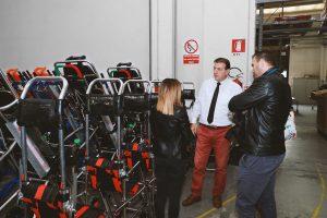 Emergencia en vivo | El cónsul general de la República de Macedonia Stojan Vitanov visita la fábrica de Spencer image 6