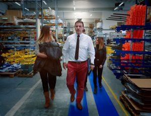 Emergencia en vivo | El cónsul general de la República de Macedonia Stojan Vitanov visita la fábrica de Spencer image 3