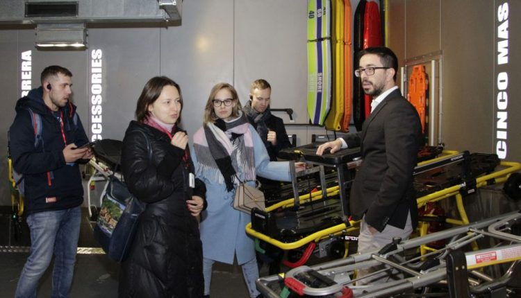 Emergency Live | Parma as centre of emergency care: Paramedics from Russia to discover leading ambulance equipment image 3