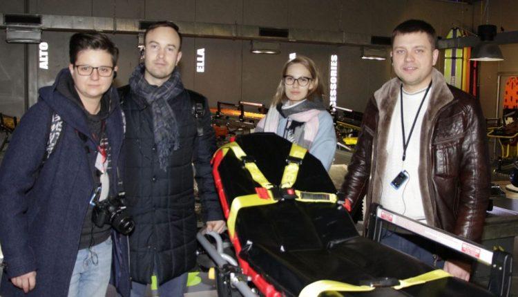 Urgence en direct | Parme comme centre de soins d'urgence: les ambulanciers paramédicaux de Russie découvrent les meilleurs équipements d'ambulance image 5