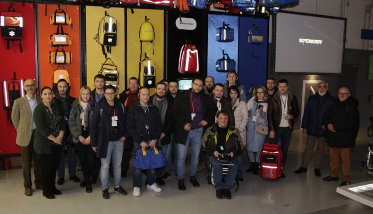 Emergency Live | Parma as centre of emergency care: Paramedics from Russia to discover leading ambulance equipment image 7