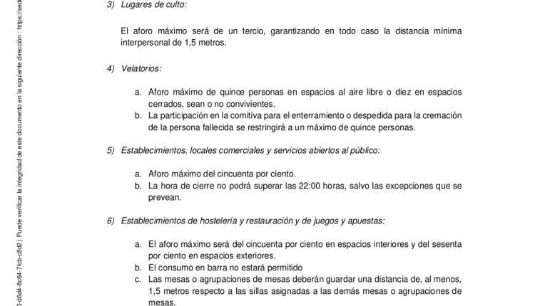 Urgence en direct | COVID-19 en Espagne: débats sur les nouvelles restrictions par le ministère de la Santé image 7