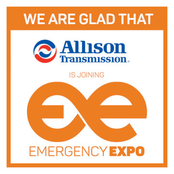 """Allison Emergency Expo 360 × 360"" partneris"