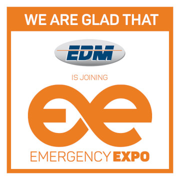 EDM Emergency Expo 360 × 360 серіктесі