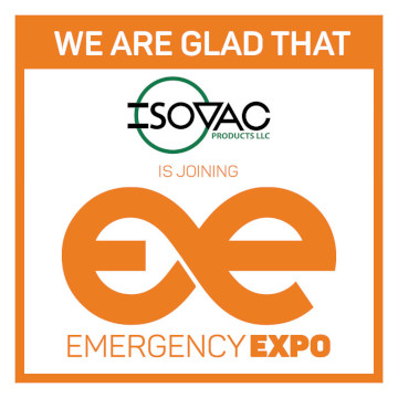 Socio de Isovac Emergency Expo 360 × 360