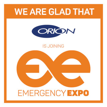 Orion Emergency Expo 360 × 360 partner