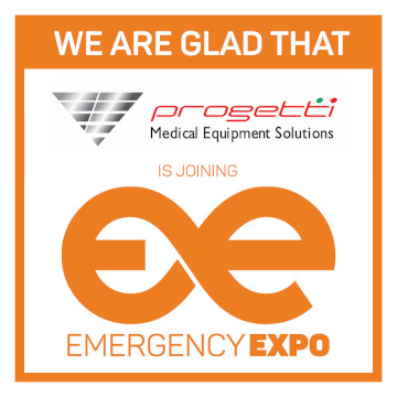 Parceiro da Progetti medical Emergency Expo 360 × 360