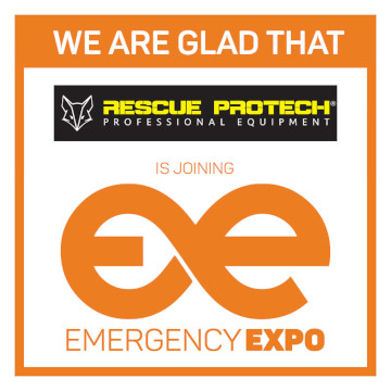 Socio de Rescue Protech Emergency Expo 360 × 360