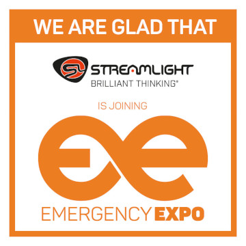 Streamlight Emergency Expo 360 × 360 partneris