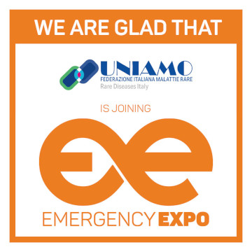 Uniamo Emergency Expo 360 × 360 partner