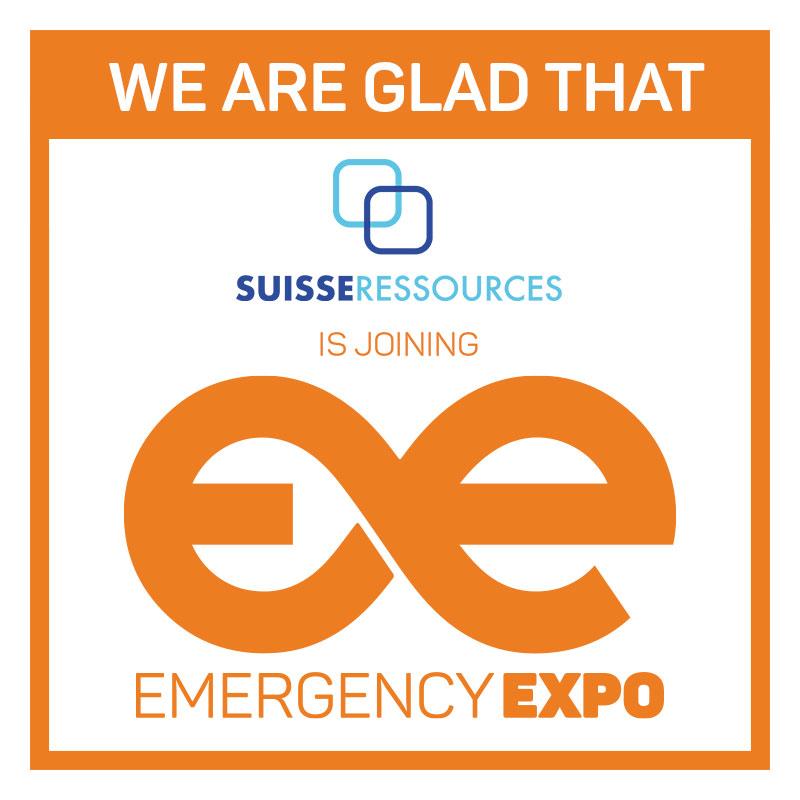 Partenaires Suisse Ressources Emergency Expo 360 × 360
