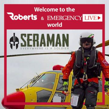 Bem-vindo Seraman ao Roberts and Emergency Live World